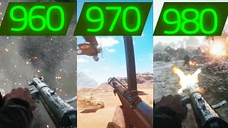 getlinkyoutube.com-BATTLEFIELD 1 GTX 960 VS GTX 970 VS GTX 980