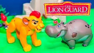 LION GUARD Disney Lion Guard Kion Pride Land Brawlers Lion Guard Video Toy Unboxing