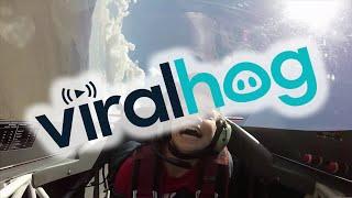 Kid Feels Effects of 8G's    ViralHog