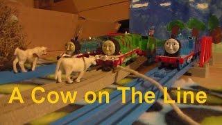 getlinkyoutube.com-Tomy Trackmaster A Cow on the Line