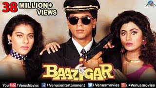 Baazigar - Hindi Movies Full Movie | Shahrukh Khan Movies | Kajol | Shilpa Shetty | Bollywood Movies width=
