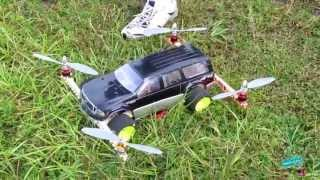 getlinkyoutube.com-RC Quadcopter Car!