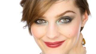 getlinkyoutube.com-Green Smoke Glamorous Party Eyes Makeup Tutorial