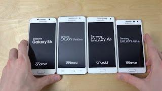 getlinkyoutube.com-Samsung Galaxy S6 vs. Grand Prime vs. Galaxy A5 vs. Galaxy Alpha - Which Is Faster? (4K)