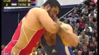 getlinkyoutube.com-ОСЕТИН Артур Таймазов и Билял Махов 120 кг финал Чемпионат мира Москва 2010 год