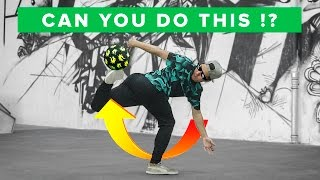 TOP 5 FOOTBALL SKILLS MOST PEOPLE CAN'T DO - Can you do this!?