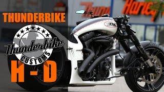 "getlinkyoutube.com-Harley Davidson ""Dragster RS"" by Thunderbike   Motorcycle Dragster Custom"