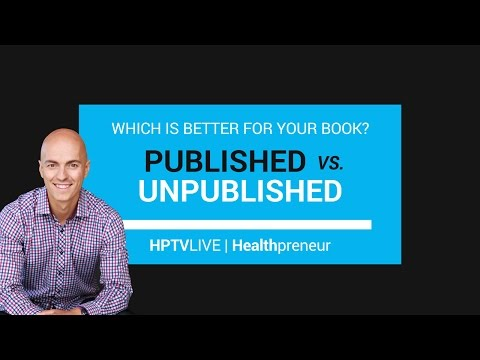 Published vs Self-Published Book - Which is Better? | HPTV Live Ep. 13