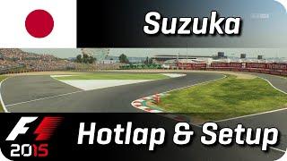 getlinkyoutube.com-F1 2015 | Suzuka TT Hotlap + Setup | 1:34.559 | Full HD
