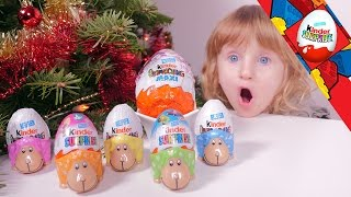 getlinkyoutube.com-[OEUF] Kinder Surprise MLP, Bob l'Eponge, Fashion Dolls - Studio Bubble Tea unboxing Kinder Surprise