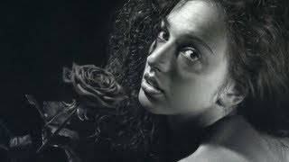 getlinkyoutube.com-Hyperrealism SPEED DRAWING by Emanuele Dascanio! Rosa Rùtila - 250 hours time-lapse