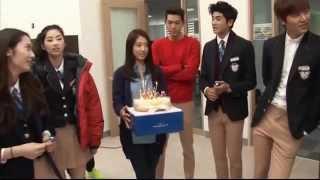 getlinkyoutube.com-The heirs funny moments part 5, Korean New Drama, Park shin hye & Lee min ho korean