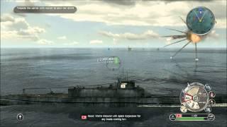 getlinkyoutube.com-Battlestations Pacific - Submarine and Battleship gameplay HD
