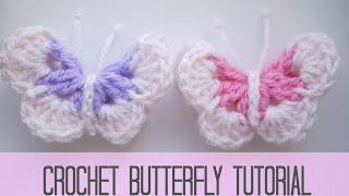 getlinkyoutube.com-CROCHET: Butterfly | Bella Coco
