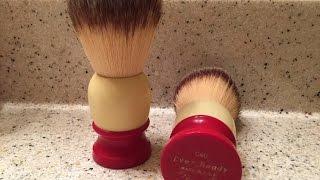 getlinkyoutube.com-Vintage Ever Ready Shaving Brush Restoration, Part 1