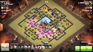 getlinkyoutube.com-Clash of clans TH10 WAR ATTACK 3 STAR GOWIGI, SQUARE BASE, ULTIMATE ATTACK..!!!!