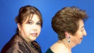 getlinkyoutube.com-Corte Hongo o Garzon paso a paso - Corte de pelo en capas cortas 1 de 2 - Corte de cabelo Garzon