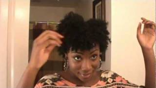getlinkyoutube.com-Defined Dry Twist Out Tutorial On Short Natural Hair
