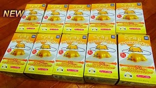 getlinkyoutube.com-【ぐでたま】ほんものかも?フィギュアGudetama Figurine Collection食玩