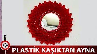 getlinkyoutube.com-Plastik Kaşıktan Ayna Yapımı