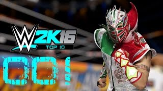 getlinkyoutube.com-WWE2K16 l Top 10 Moves l Kalisto! [HD/PS4/Deutsch]