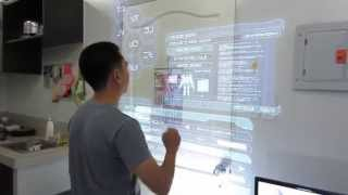 getlinkyoutube.com-Pinoy 3D Visual Effects - Holographic touch screen monitor