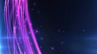 getlinkyoutube.com-4K Sided Purple Sparkling Waves 2160p Motion background
