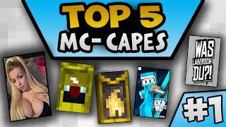 getlinkyoutube.com-KATJA KRASAVICE | 2016 MINECON CAPE | TOP 5 Minecraft CAPES #01 | Exa