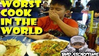 getlinkyoutube.com-★★ BHD Storytime #27 - Worlds Worst Food Accident (w BlastphamousHD)