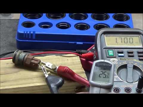 How to test a ECT (Engine Coolant Temperature) Sensor's 'sweeping' ability