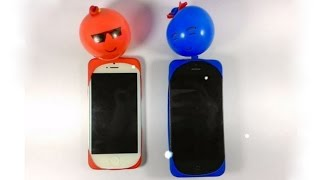 getlinkyoutube.com-How to make MOBILE COVER at home With Balloon