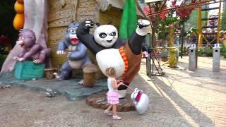 getlinkyoutube.com-Самый лучший Детский парк? ВЛОГ #2 с HELLO KITTY в СУПЕР парке для детей Видео для девочек Vlog