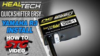 getlinkyoutube.com-How to Install a HealTech Yamaha YZF-R3 15-16 QuickShifter Easy from Sportbiketrackgear.com