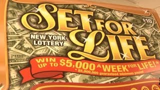 getlinkyoutube.com-Man wins over $100K a year, for life - New York Post