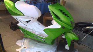"getlinkyoutube.com-""""Aerox 70ccm Streetrace Story """" Green/White edition"""""