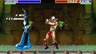 getlinkyoutube.com-TAS/TAP GEN Mortal Kombat Revelations(Hack) - Hydro Playthrough by Ksylatron