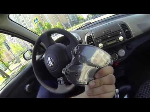 Замена колодок Nissan Micra