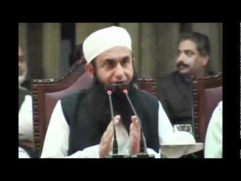 Maulana Tariq Jameel at Punjab University on 10-03-2011 2/8