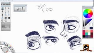 getlinkyoutube.com-Designing Slim Male Characters Tutorial