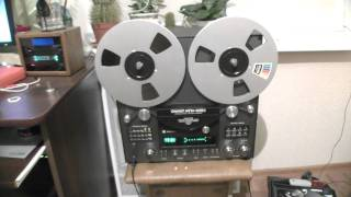 getlinkyoutube.com-катушечный магнитофон ОЛИМП МПК-005