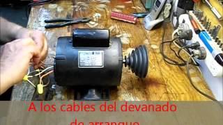 getlinkyoutube.com-Cambio de rotación de un motor con un Switch sencillo