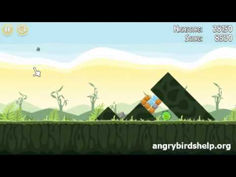 Angry Birds Level 2-9 - 3 Star Walkthrough