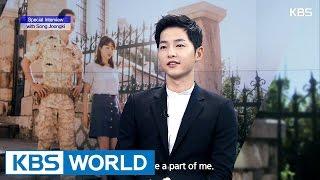 getlinkyoutube.com-Special interview with  Song Joongki [Ver.2]