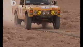 getlinkyoutube.com-Range Rover spectacular crash during Syrian desert rally 1999