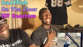 getlinkyoutube.com-Black People React: IceJJFish - On The Floor MV Reaction