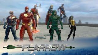 getlinkyoutube.com-[DCUO] : Team Flarrow - Heroes v Aliens: The Dominators   The CW