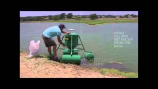 getlinkyoutube.com-Pond King Floating Fish Feeder