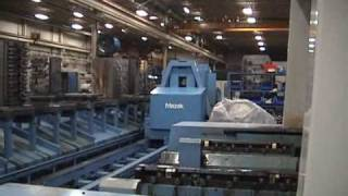 getlinkyoutube.com-Mazak H-800 Palletech CNC Manufacturing Cell