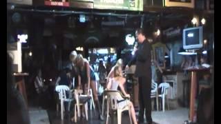 getlinkyoutube.com-Orgasm, Vibrating Sexy chair, Stage hypnotist Dean saunders