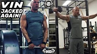 Vin Diesel BACK In Great Shape! Training For xXx The Return of Xander Cage & FAST 8